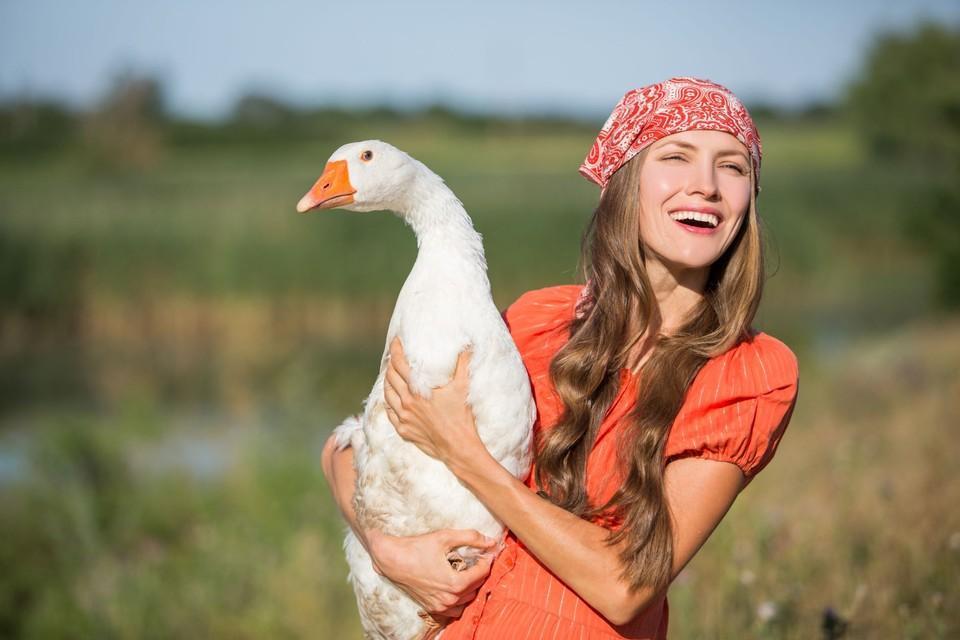 Une femme est une oie