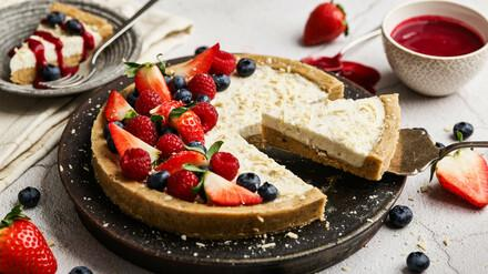 Vegan Vanilla Cheesecake