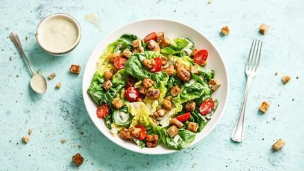 Rezept für Cäsar-Salat