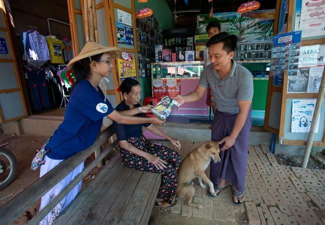Impfprogramm in Myanmar