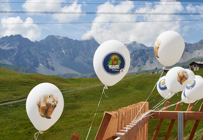 Ballone Plattform Arosa Bärenland