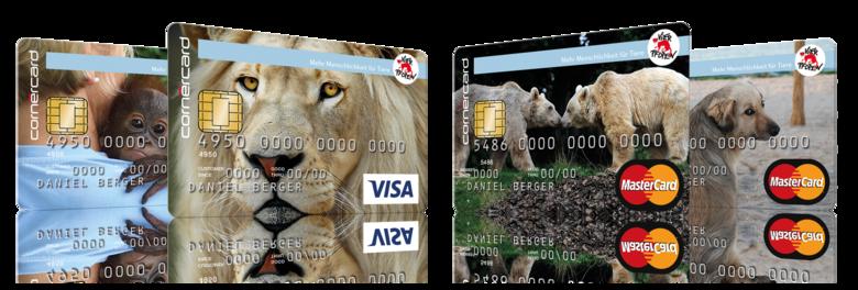 Kreditkarten VIER PFOTEN