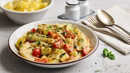 Kartoffeln mit Fenchel-Gemüse