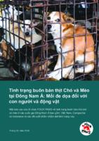 Mối đe dọa đối vớicon người và động vật
