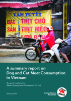 A summary report on Dog and Cat Meat Consumption in Vietnam