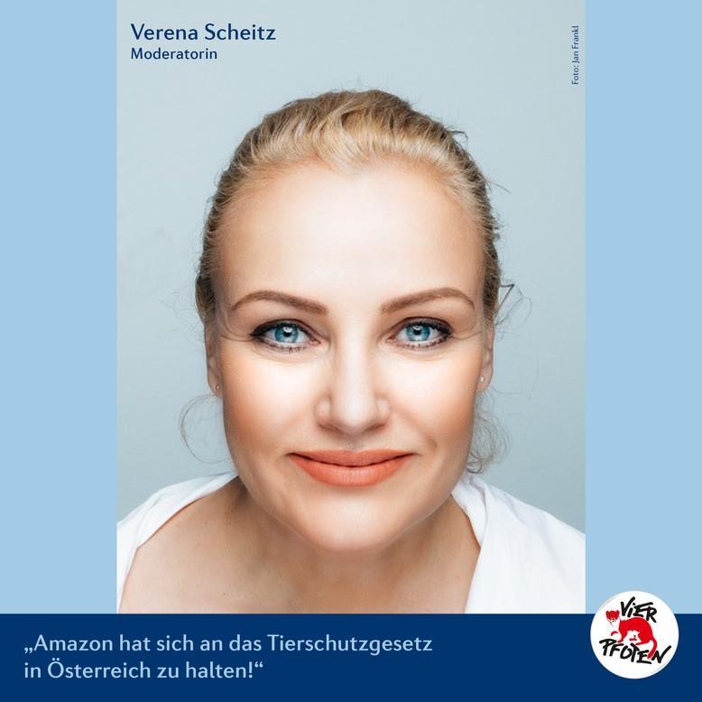 Verena Scheitz (c) VIER PFOTEN   Jan Frankl