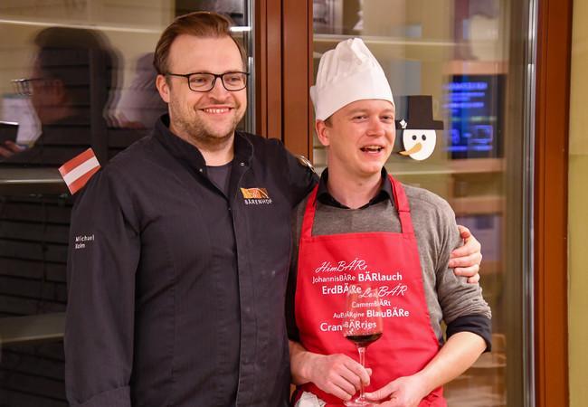 Kochen mit Haubenkoch Michael Kolm