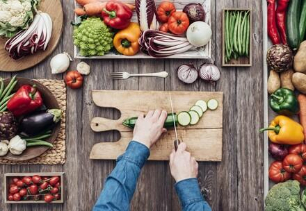 Gemüseverarbeitung