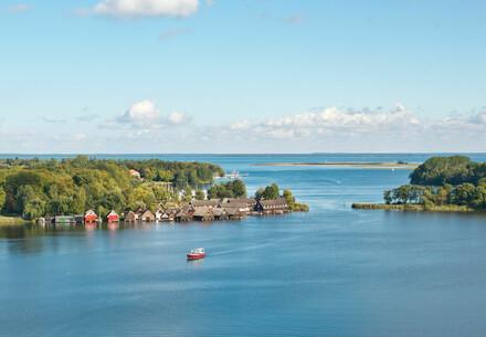 Müritz See in der Mecklenburgischen Seenplatte