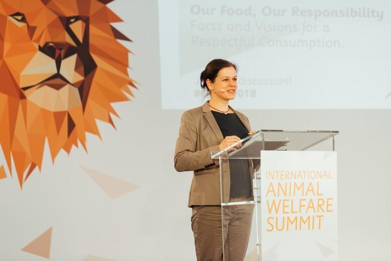 Tanja Busse beim IAWS 2018