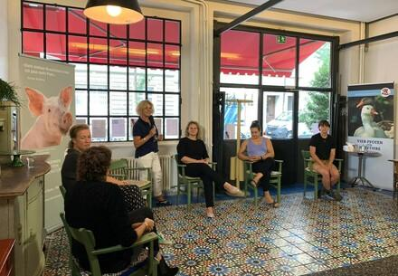 Brunchtalk am 23.8.20 im Maison Raison