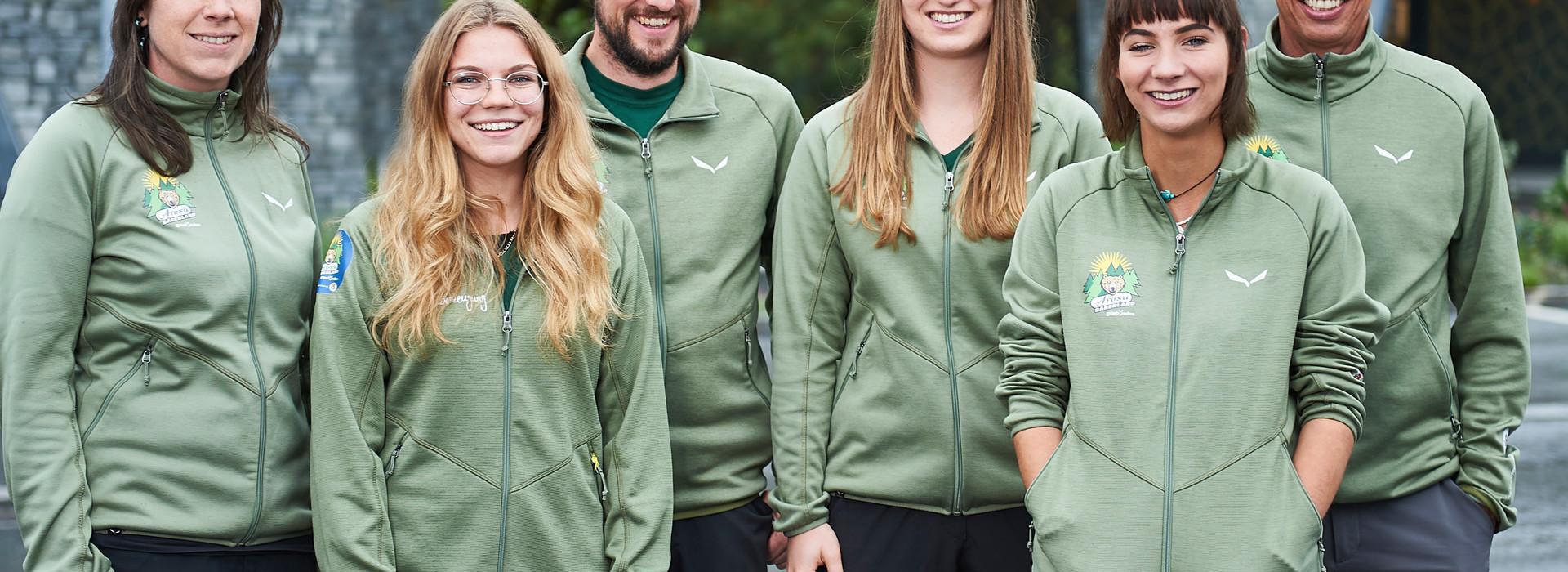 Das Team des Arosa Bärenland