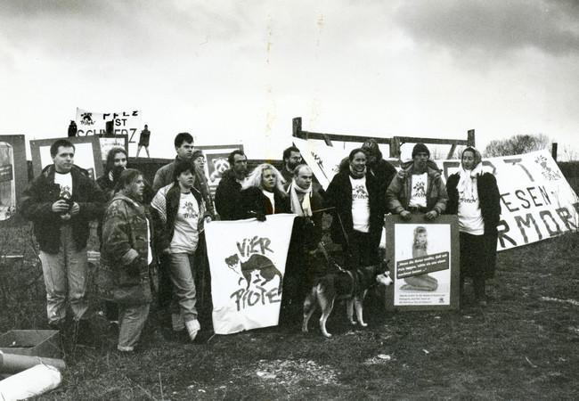 1992 fur demonstration