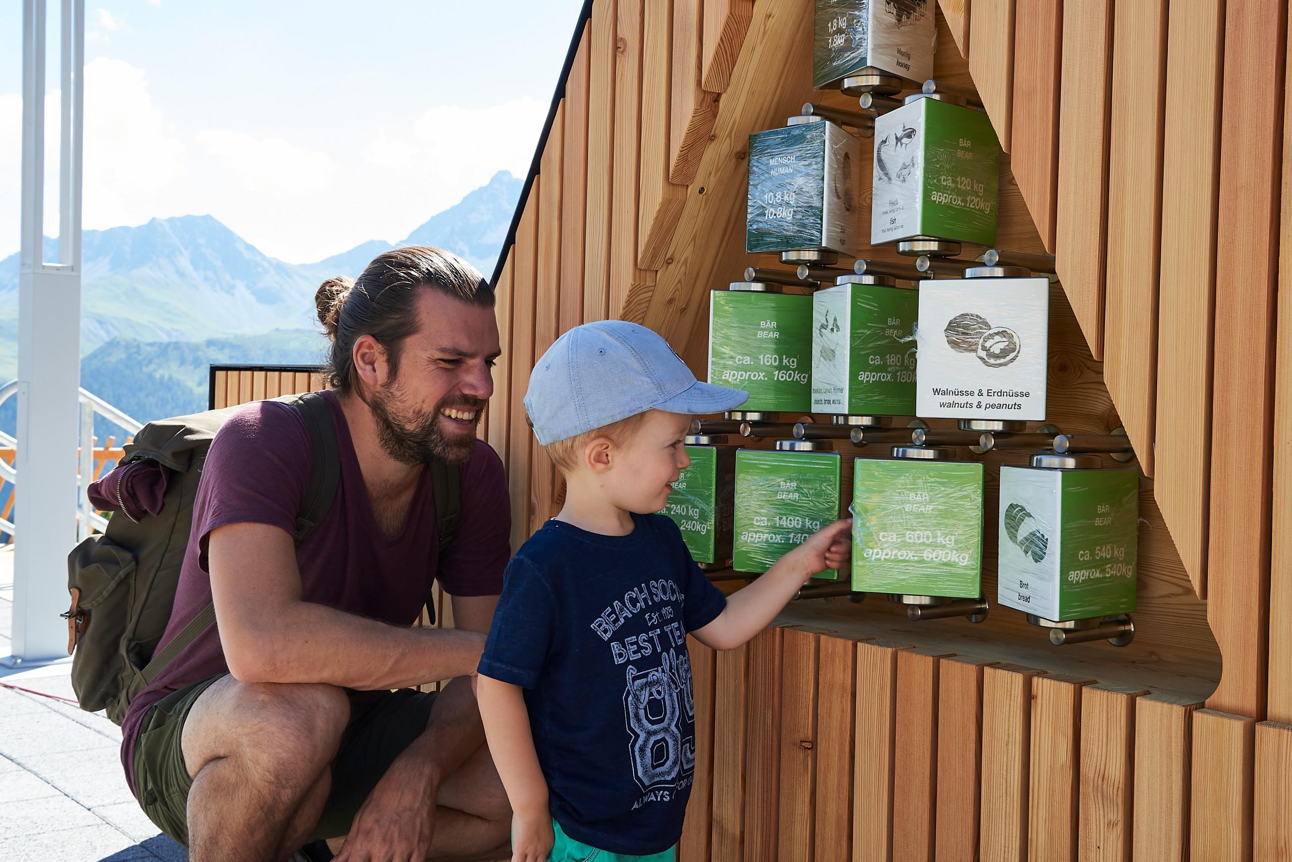 Element Besucherplattform Arosa Bärenland
