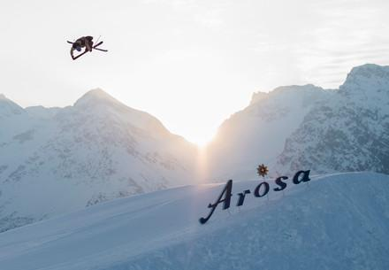 Elias Ambuehl in Arosa