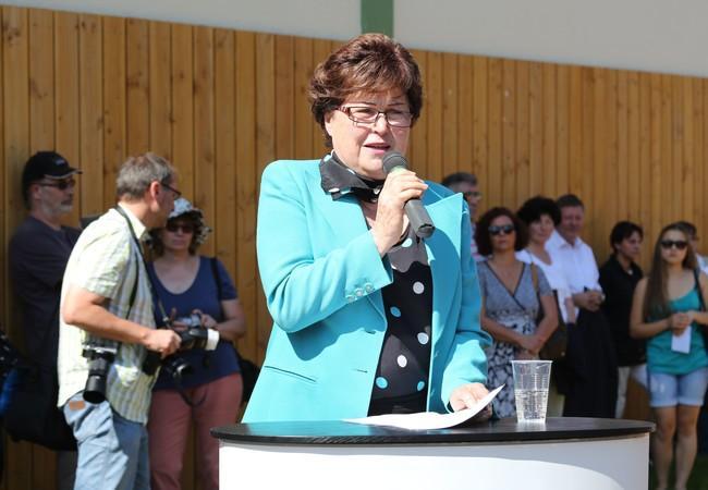 Tierschützerin Roswitha Bour