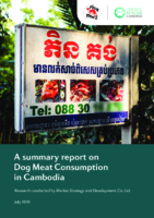 A Summary Report on Dog Meat Consumption in Cambodia