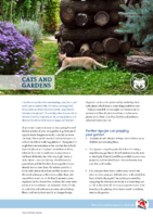 Cats and Gardens