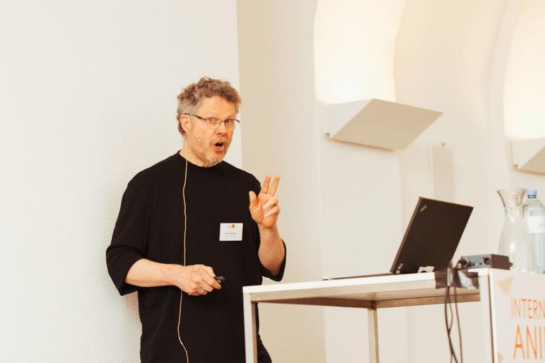Paul Waldau beim IAWS 2018