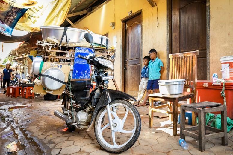 Schlachthaus im Siem Reap