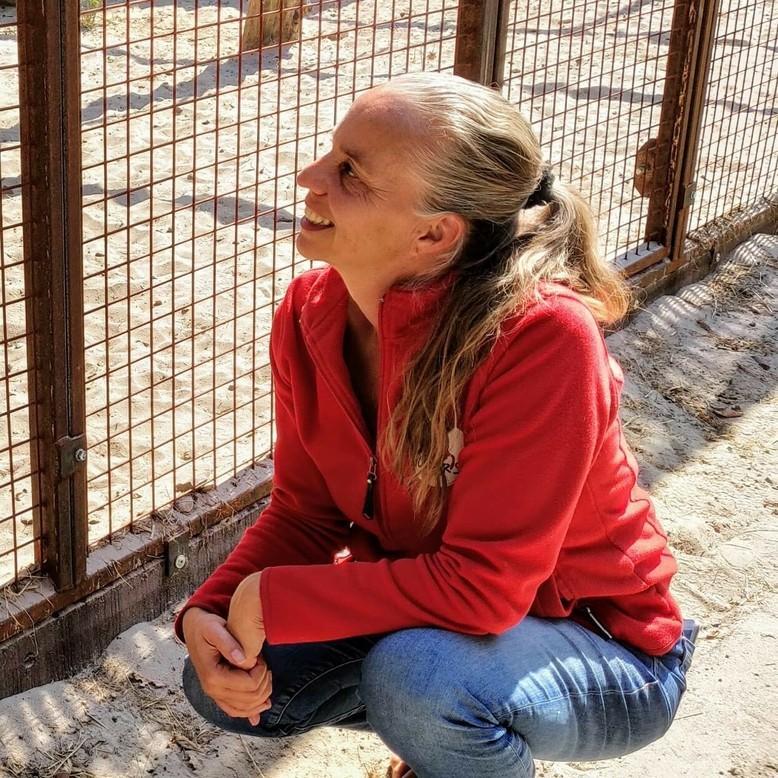 Simone in FELIDA Big Cat Centre