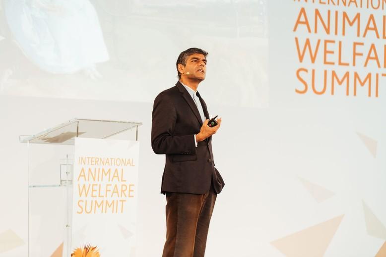Raj Patel beim IAWS 2018