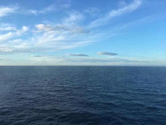 Auf der Überfahrt von Griechenland nach Italien