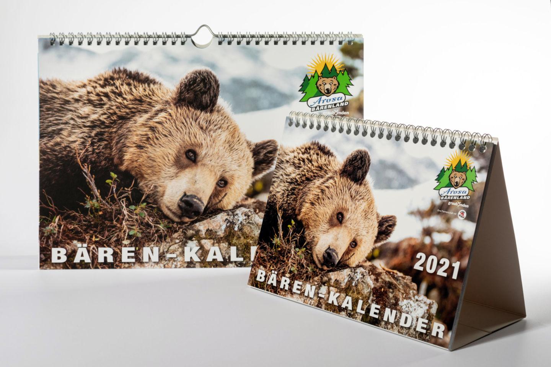 Arosa Bärenland Kalender 2021