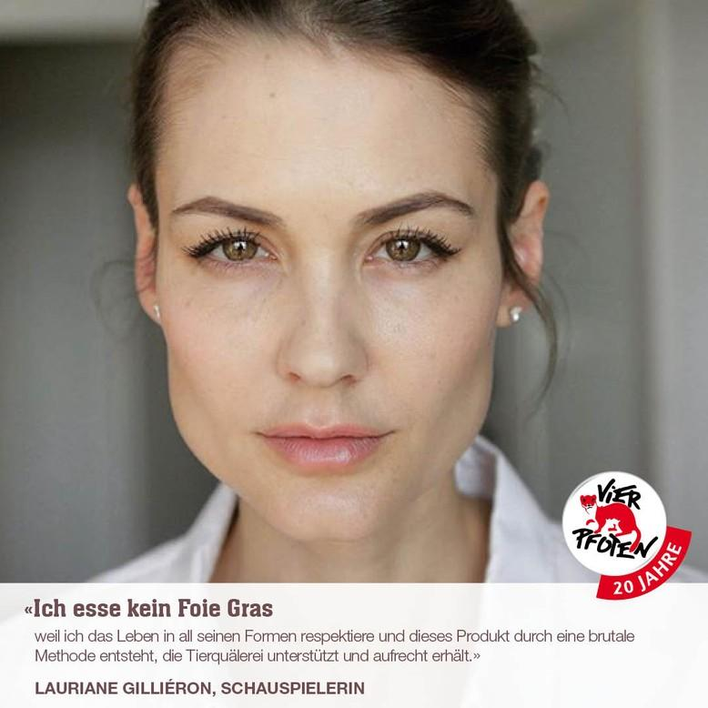 Ex-Miss-Schweiz Lauriane Gilliéron