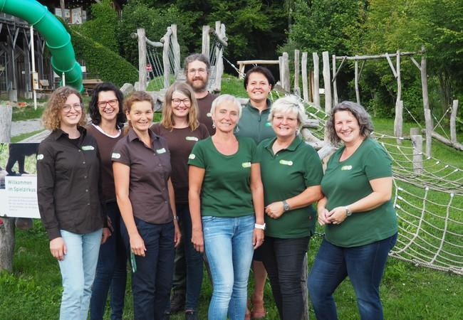 Das Team des Bärenwaldes