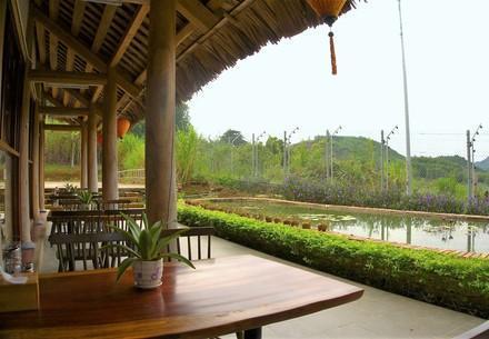 Our Restaurant at BEAR SANCTUARY Ninh Binh