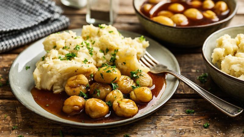 Kartoffelpuree Mit Maroni Rezepte Unsere Geschichten Vier Pfoten Osterreich