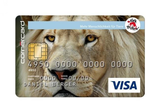 Kreditkarte Löwe