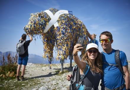 Selfiepoint Weisshorn Bear