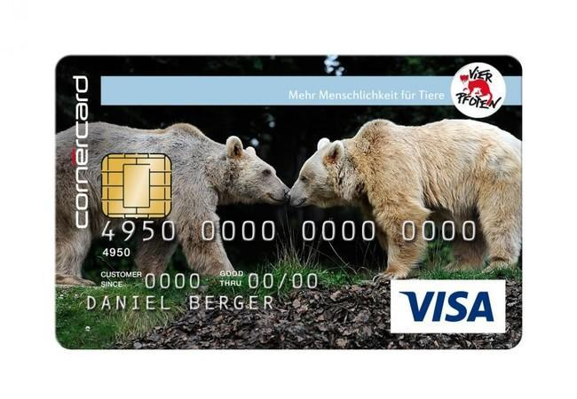 Kreditkarte Bär