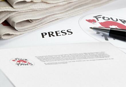 FOUR PAWS Press Releases