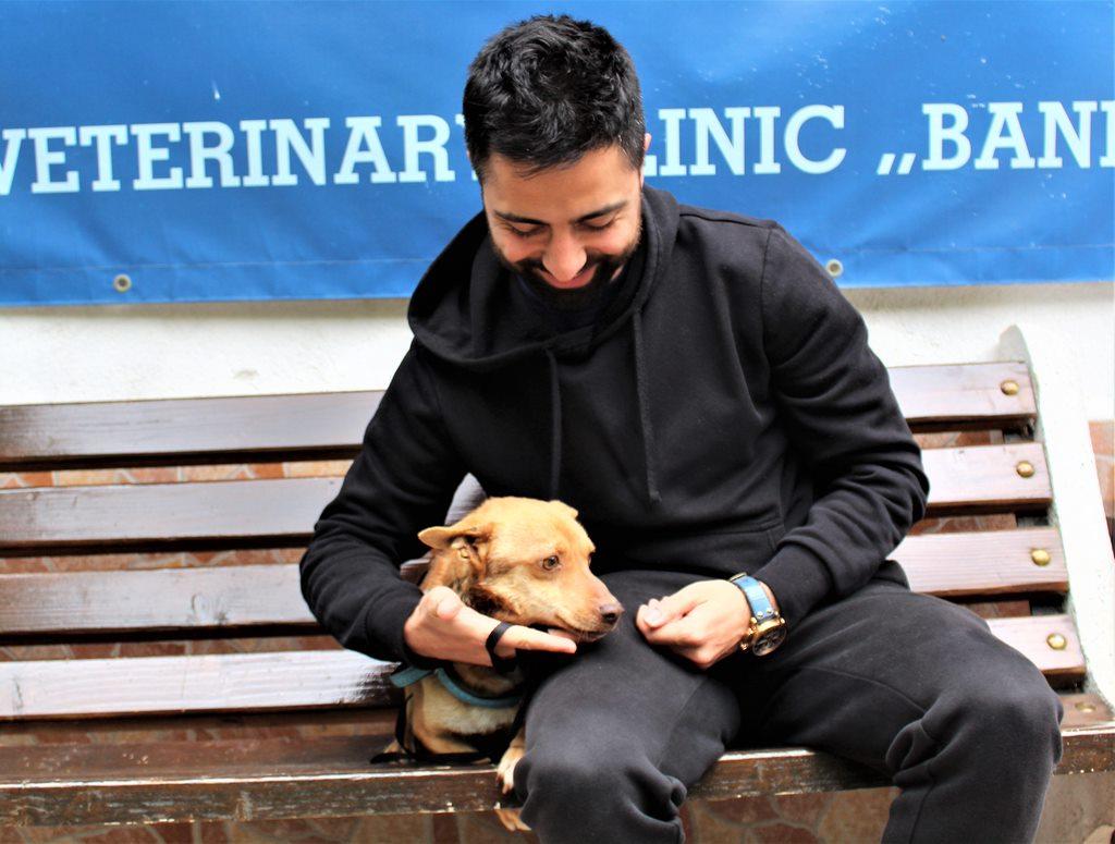 куче Трайчо осиновен в Банкя