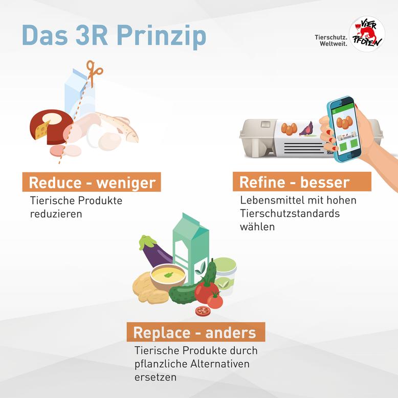 Das 3R Prinzip