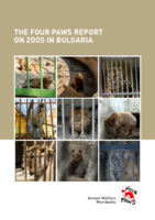 The FOUR PAWS report on zoos in Bulgaria