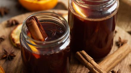 Alcohol-free mulled wine