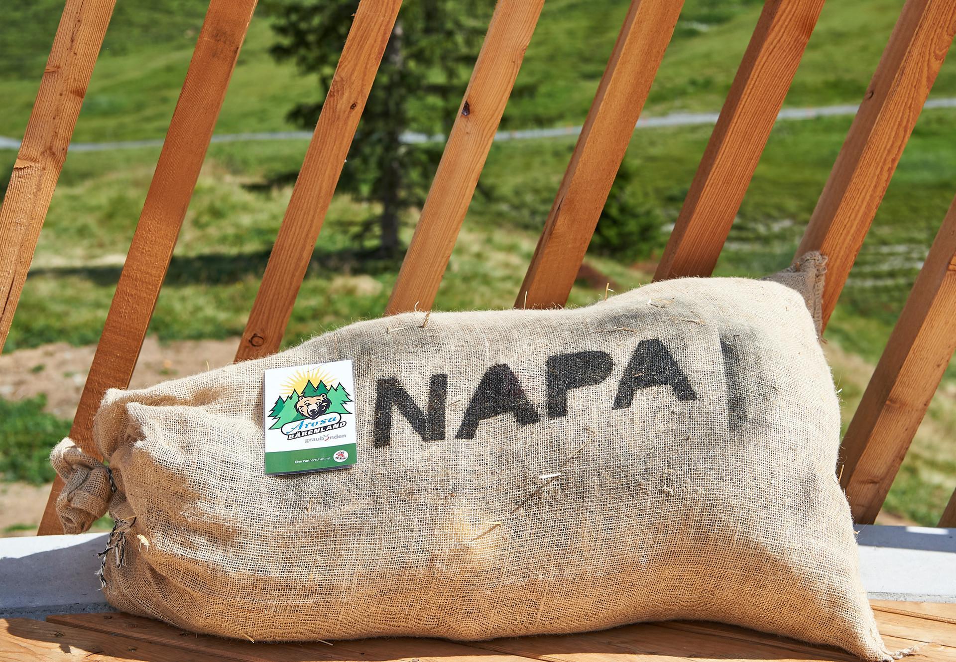 Futter für Napa's Taufe