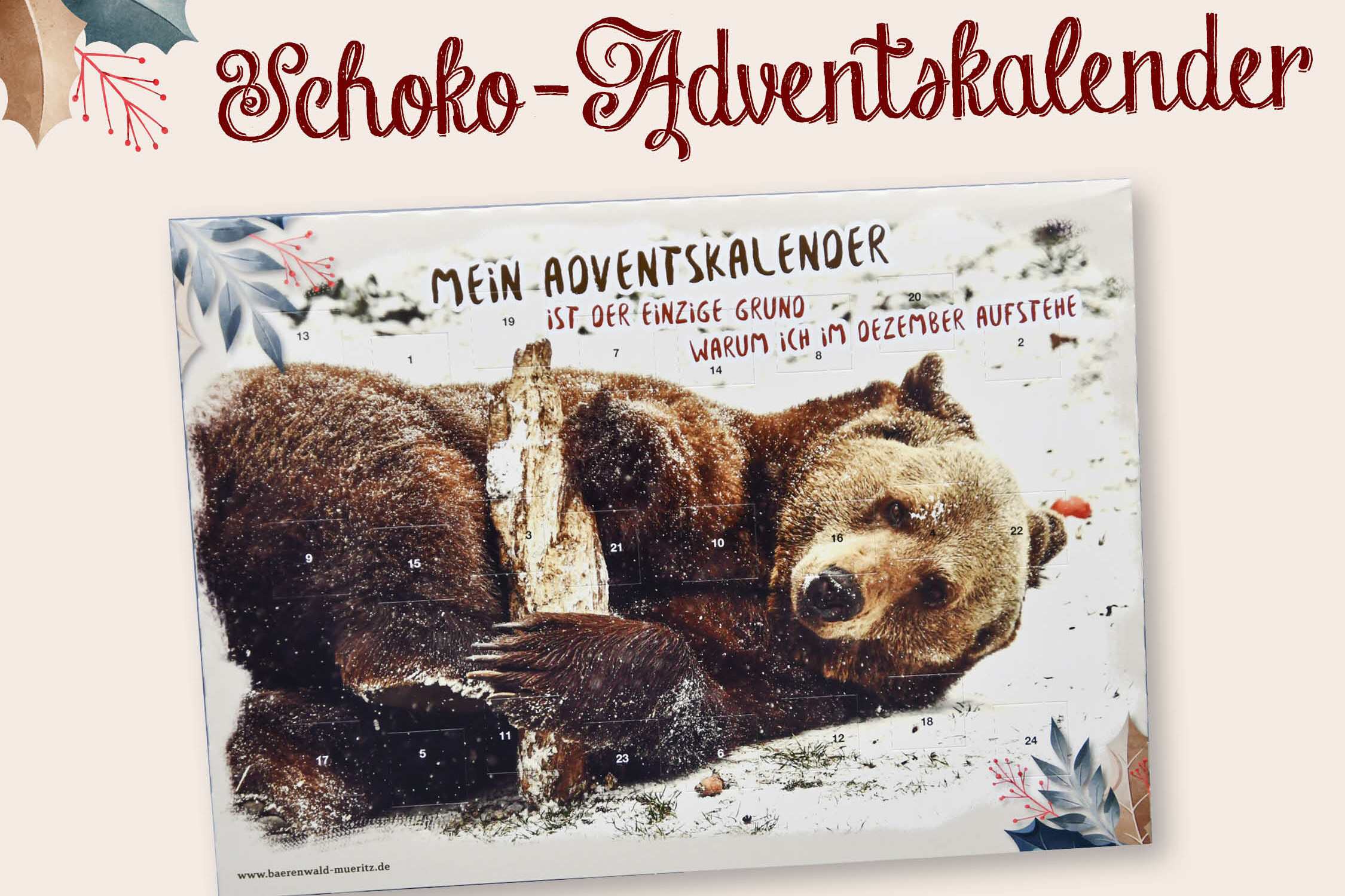 Schoko-Adventskalender