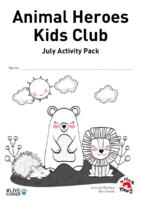 Animal Heroes Kids Club: July