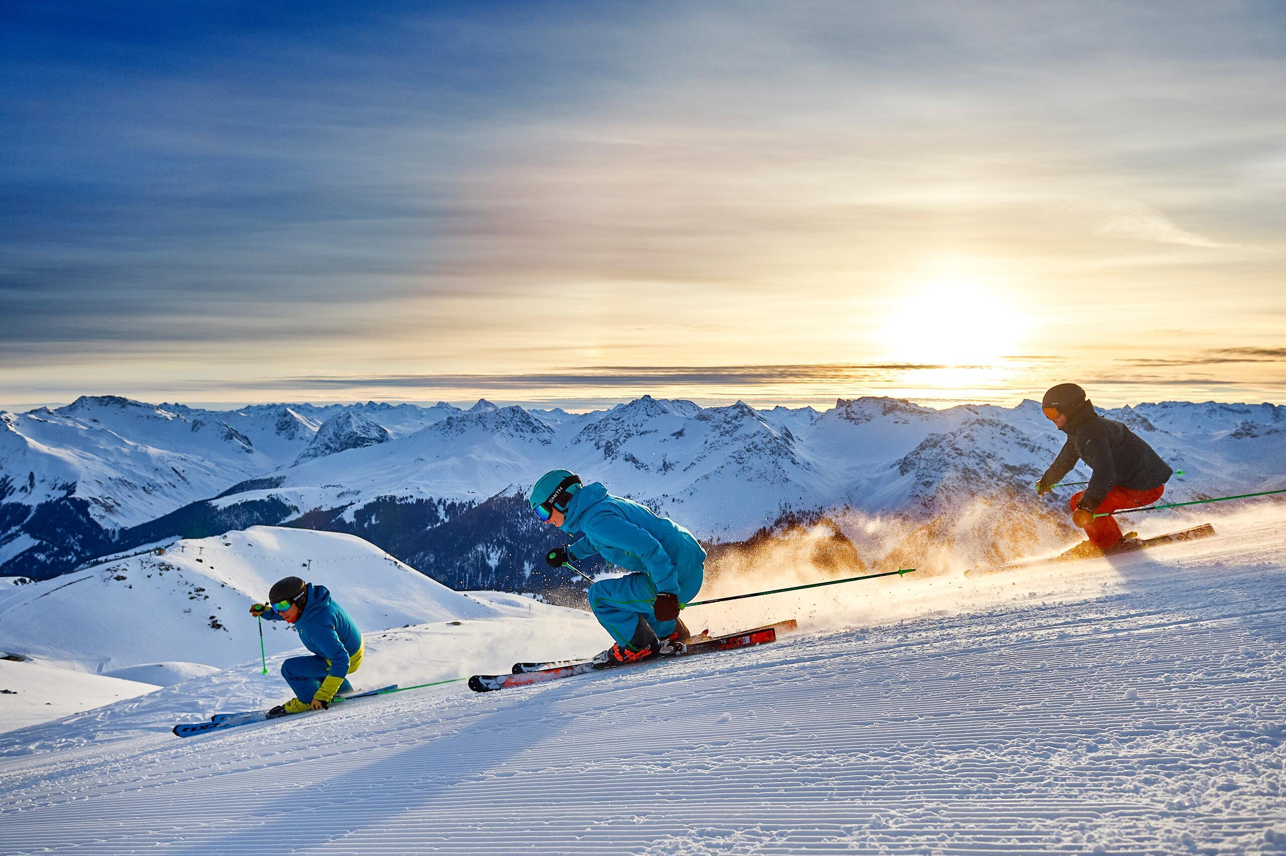 Skifahren in Arosa