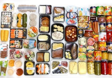 Vorgefertigte Lebensmittel