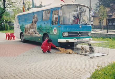 Erste mobile VIER PFOTEN Tierklinik