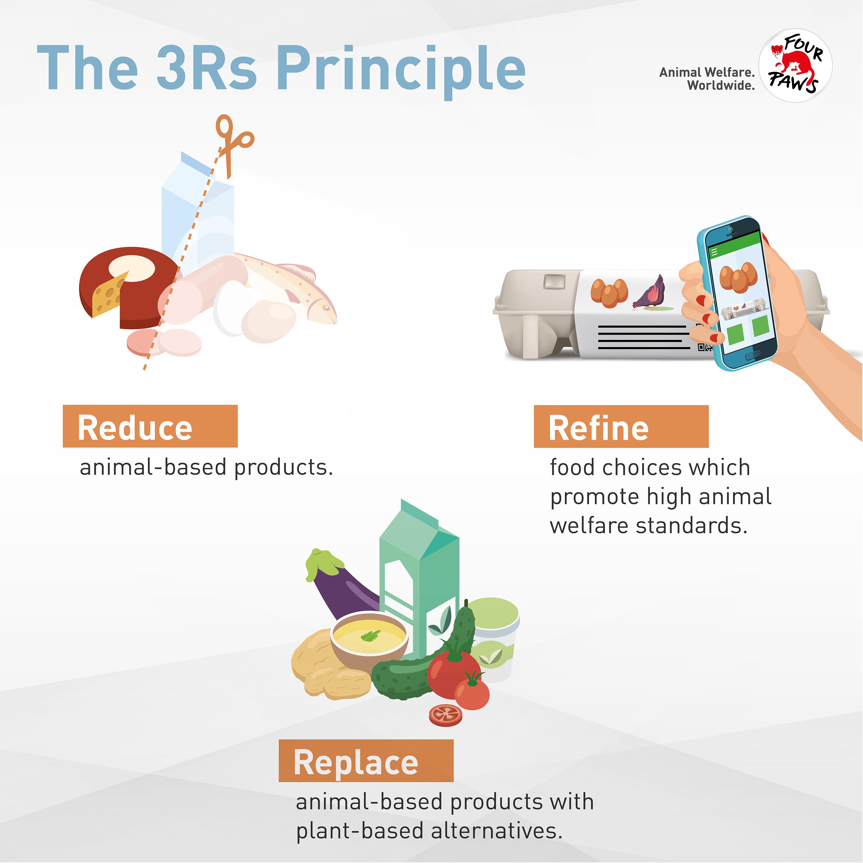 The 3Rs Principle