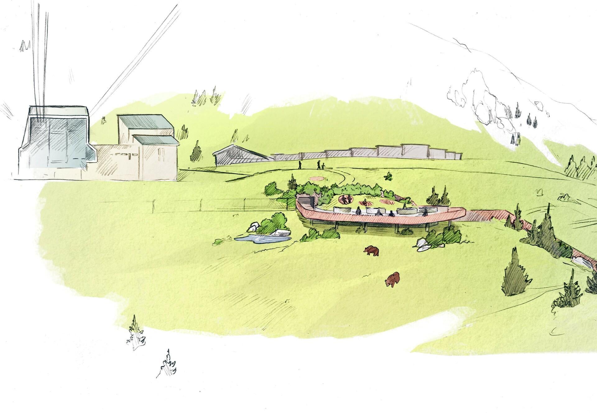Illustration Arosa Bärenland