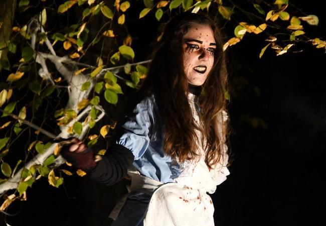 Alice im Wunderland zu Halloween 2019