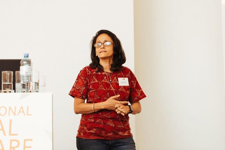 Vidya Athreya beim IAWS 2018